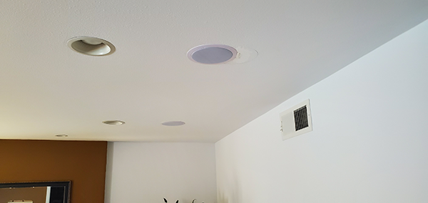 Professional In-Wall Speaker Installation
